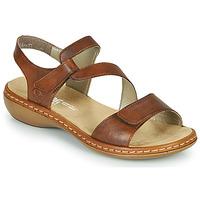 kengät Naiset Sandaalit ja avokkaat Rieker ZAZIE Ruskea