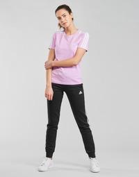 vaatteet Naiset Verryttelyhousut adidas Performance W 3S FL C PT Musta