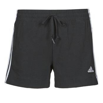 vaatteet Naiset Shortsit / Bermuda-shortsit adidas Performance W 3S SJ SHO Musta