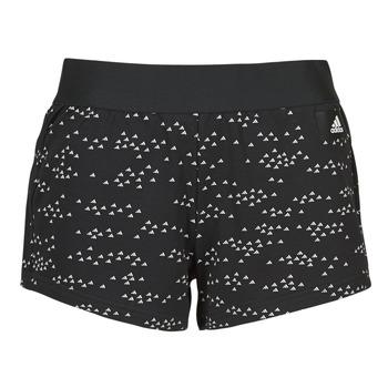 vaatteet Naiset Shortsit / Bermuda-shortsit adidas Performance W WIN Short Musta