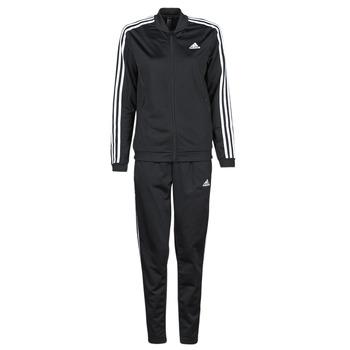 vaatteet Naiset Verryttelypuvut adidas Performance W 3S TR TS Musta