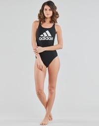 vaatteet Naiset Yksiosainen uimapuku adidas Performance SH3.RO BOS S Musta
