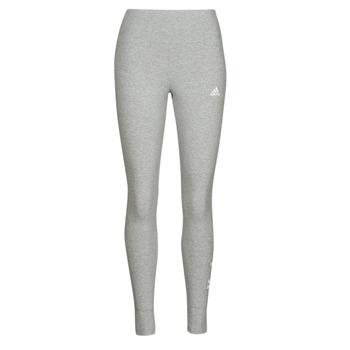 vaatteet Naiset Legginsit adidas Performance W LIN LEG Harmaa