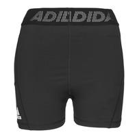 vaatteet Naiset Shortsit / Bermuda-shortsit adidas Performance TF SHRT 3 BAR T Musta