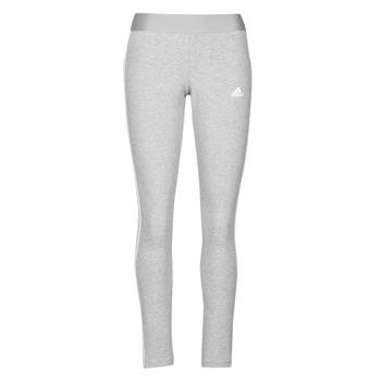 vaatteet Naiset Legginsit adidas Performance W 3S LEG Harmaa