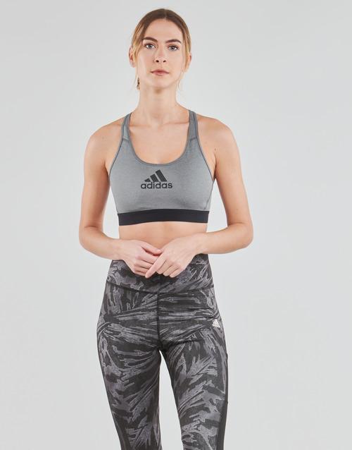 vaatteet Naiset Urheiluliivit adidas Performance DRST ASK BRA Harmaa