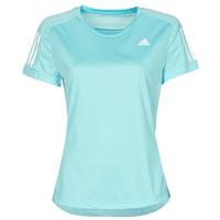 vaatteet Naiset Lyhythihainen t-paita adidas Performance OWN THE RUN TEE Blue