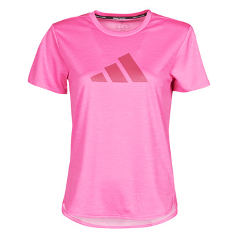 vaatteet Naiset Lyhythihainen t-paita adidas Performance BOS LOGO TEE Vaaleanpunainen