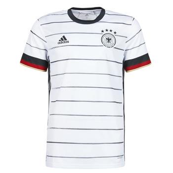 vaatteet Miehet Lyhythihainen t-paita adidas Performance DFB H JSY Valkoinen