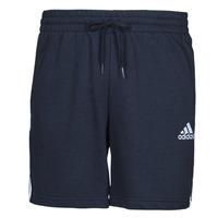 vaatteet Miehet Shortsit / Bermuda-shortsit adidas Performance M 3S FT SHO Sininen