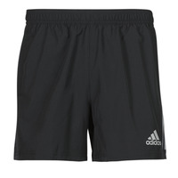 vaatteet Miehet Shortsit / Bermuda-shortsit adidas Performance OWN THE RUN SHO Musta