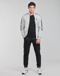 vaatteet Miehet Verryttelypuvut adidas Performance M 3S FT TT TS Harmaa