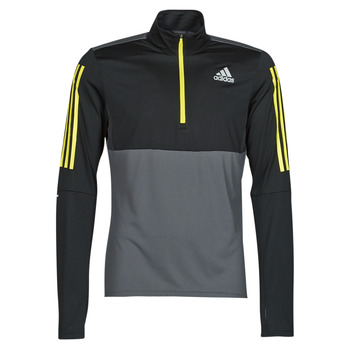 vaatteet Miehet Svetari adidas Performance OWN THE RUN 1/2 Harmaa