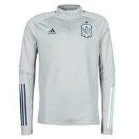 vaatteet Miehet Lyhythihainen t-paita adidas Performance FEF TR TOP Harmaa