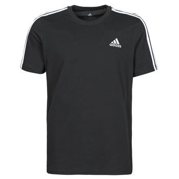 vaatteet Miehet Lyhythihainen t-paita adidas Performance M 3S SJ T Musta