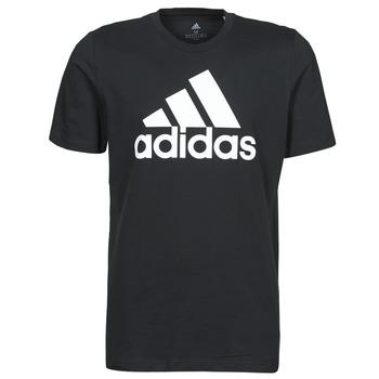 vaatteet Miehet Lyhythihainen t-paita adidas Performance M BL SJ T Musta