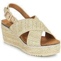 kengät Naiset Sandaalit ja avokkaat Refresh AMELA Beige