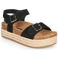 kengät Naiset Sandaalit ja avokkaat Refresh KINNA Musta