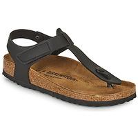 kengät Lapset Varvassandaalit Birkenstock KAIRO HL Musta