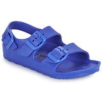 kengät Pojat Sandaalit ja avokkaat Birkenstock MILANO EVA Sininen