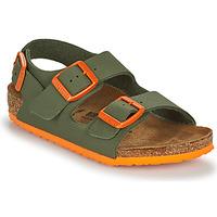kengät Pojat Sandaalit ja avokkaat Birkenstock MILANO Khaki / Oranssi