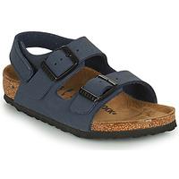 kengät Pojat Sandaalit ja avokkaat Birkenstock MILANO HL Sininen