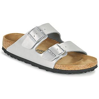 kengät Naiset Sandaalit Birkenstock ARIZONA Hopea