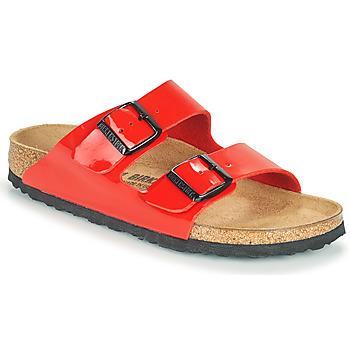 kengät Naiset Sandaalit Birkenstock ARIZONA Punainen
