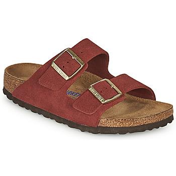 kengät Naiset Sandaalit Birkenstock ARIZONA SFB Punainen