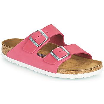kengät Naiset Sandaalit Birkenstock ARIZONA SFB Vaaleanpunainen