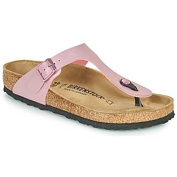 kengät Naiset Varvassandaalit Birkenstock GIZEH Vaaleanpunainen