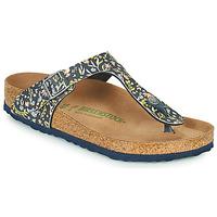 kengät Naiset Varvassandaalit Birkenstock GIZEH Sininen