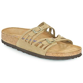 kengät Naiset Sandaalit Birkenstock GRANADA SFB Khaki