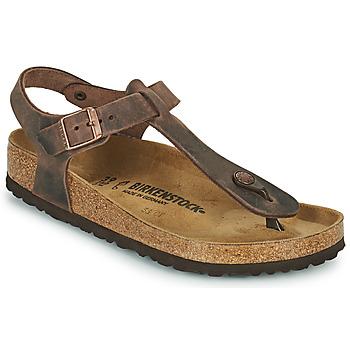 kengät Naiset Varvassandaalit Birkenstock KAIRO Ruskea