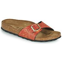 kengät Naiset Sandaalit Birkenstock MADRID Punainen / Kulta