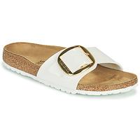 kengät Naiset Sandaalit Birkenstock MADRID BIG BUCKLE Valkoinen
