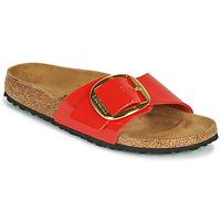 kengät Naiset Sandaalit Birkenstock MADRID BIG BUCKLE Punainen