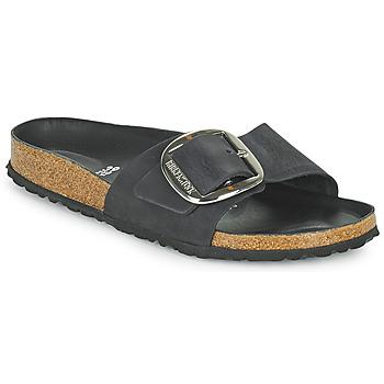 kengät Naiset Sandaalit Birkenstock MADRID BIG BUCKLE Musta