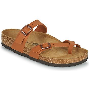 kengät Naiset Sandaalit Birkenstock MAYARI Ruskea