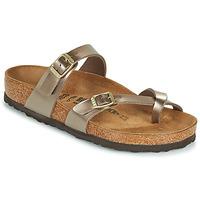 kengät Naiset Sandaalit Birkenstock MAYARI Kulta