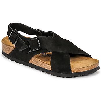 kengät Naiset Sandaalit ja avokkaat Birkenstock TULUM SFB Musta