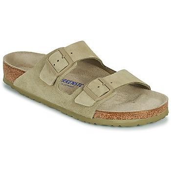 kengät Miehet Sandaalit Birkenstock ARIZONA SFB Khaki