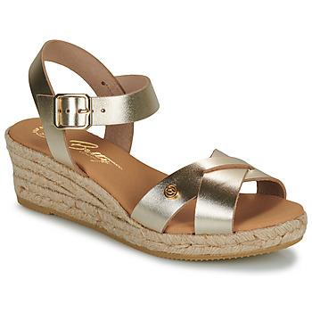 kengät Naiset Sandaalit ja avokkaat Betty London GIORGIA Kulta