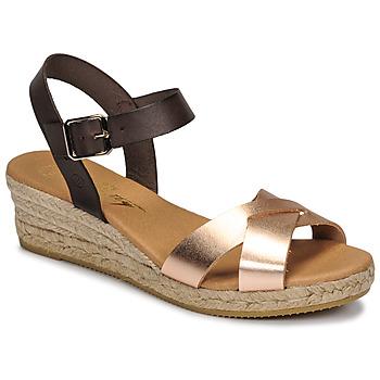 kengät Naiset Sandaalit ja avokkaat Betty London GIORGIA Ruskea / Nude