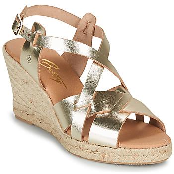 kengät Naiset Sandaalit ja avokkaat Betty London OSAVER Kulta