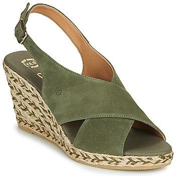 kengät Naiset Sandaalit ja avokkaat Betty London OHINDRA Khaki