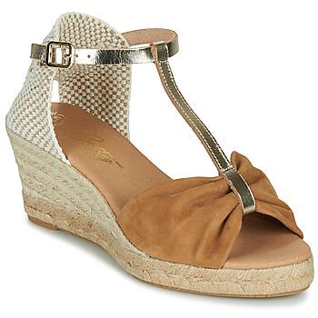 kengät Naiset Sandaalit ja avokkaat Betty London OREINOA Kamelinruskea