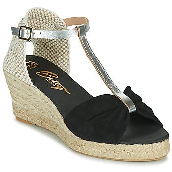 kengät Naiset Sandaalit ja avokkaat Betty London OREINOA Musta