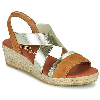 kengät Naiset Sandaalit ja avokkaat Betty London OLINDRE Konjakki
