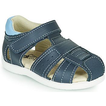 kengät Pojat Sandaalit ja avokkaat Citrouille et Compagnie OLISS Sininen